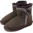 emu emu sheepskin boots ALBINA MINI アルビナミニ CHOCOLATE (W10834 FW13)