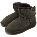 emu emu sheepskin boots ALBA MINIMINI Aruba microskirt CHOCOLATE (W10835 FW13) fs3gm