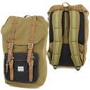 Herschel Supply Hershel supply bag Little America Little America backpack (rucksack day pack) Army/Wool (10014-00177-OS FW13)