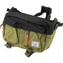 Herschel Supply Herschel supply Eighteen eighteen West bag ( also shoulder ) Army/Black ( 10018-00160-OS FW13 ) fs3gm