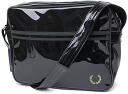 TRANSPARENT SHOULDER BAG, FRED PERRY Fred Perry shoulder bag BLK ( L5125-102 ) ◆
