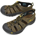 KEEN keen Newport MNS Sport Sandals Newport men's Bison ( 1001870 ) fs3gm