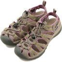 KEEN keen WMNS Whisper Sport Sandals whisper women's Brindle/Regal Orchid ( 1003711 ) fs3gm