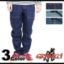 GRAMICCI pants DENIM WORK PANTS denim work pants ( GMP-13S018 SS13 )