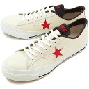 CONVERSE Converse sneakers ONE STAR J one star Japan white / red / navy (32346650 SS14)