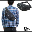 NEWERA new era NEWERA WAIST BAG waist bag (slant credit shoulder) black (N0019560 SS14) (NEW ERA)