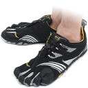 Five Vibram FiveFingers vibram five fingers men KMD SPORT LS Black/Silver/Grey vibram five fingers finger shoes raise of wages feet (14M3602)