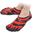 Five Vibram FiveFingers vibram five fingers men EL-X Red/Black vibram five fingers finger shoes raise of wages feet (13M0103)