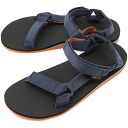 Teva Teva sandals men Original Universal original universal sports sandals BLUE / ORANGE (1004006-BOR SS14)