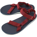 Teva Teva sandals men Original Universal original universal sports sandals RHUBARB / BLUE (1004006-RRBL SS14)