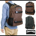 THRASHER slasher many functions backpack BROWN (THRSG-6800)