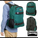THRASHER slasher many functions backpack GREEN (THRSG-6800)