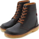 duck feet and duck feet ( DUNSKE Danske ) DN4600 leather boots black ( DN4600009 SS13 )