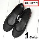 HUNTER hunter Original Ballet Flat original ballet flat rubber shoes BLK (HUW25524 SS14)