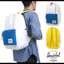 Herschel Supply Hershel supply bag Settlement セトルメントバックパック (rucksack day pack) White/Regatta Blue/Cardinal Yellow (10005-00306-OS SS14)