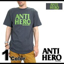 ANTIHERO Ann Thailand hero (nonhero) men's T-shirt Basic Hero T-Shirt basic hero TEE (51020002AJ SU14)