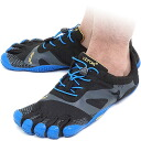 Five Vibram FiveFingers vibram five fingers men KSO EVO Black/Blue vibram five fingers finger shoes raise of wages feet (14M0703)