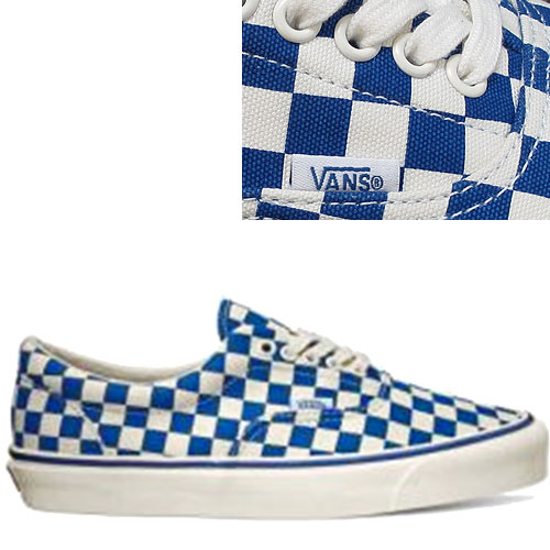 vans og era lx checkerboard true blue