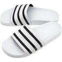 adidas adidas originals Sandals ADILETTE adiliette shower Sandals white / black / white (280648 SS15)