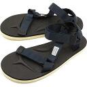 SUICOKE sicock mens ladies strap Sandals Vibram sole DEPA Navy (OG-022 SS15)