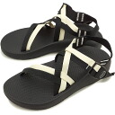Chaco Chaco Sandals men's ZX1 YAMPA MNS Vibram sole specification strap sandal BK/WT (Japan Special/12366032 SS15)