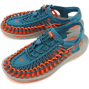 KEEN keen men's Sandals UNEEK MNS unique men's Ink Blue/Red Clay (1013089 SS15)