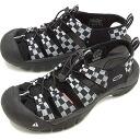 KEEN keen men's Sandals water shoes Newport H2 MNS Newport Atto mens Checker Flag (1013008 SS15)