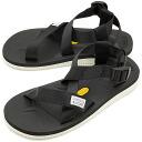 SUICOKE sicock mens ladies strap Sandals Vibram sole CHIN-V black (OG-23 V SS15)