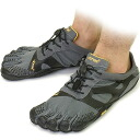 Vibram FiveFingers Vibram five fingers mens KSO EVO Grey/Black Vibram five fingers five finger shoes barefoot (15M070140)