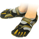 Five Vibram FiveFingers Vibram five fingers men's & women's Black/Gold KMD SPORT Vibram fingers five finger shoes barefoot ( W3681 ) fs3gm