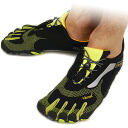 Vibram FiveFingers Vibram five fingers men's BIKILA LS Black/Green Vibram five fingers five finger shoes barefoot ( M3581 )