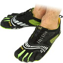 Vibram FiveFingers Vibram five fingers mens KMD SPORT LS Black/Grey/Green Vibram five fingers five finger shoes barefoot ( M3781 )