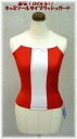 Unless the stock! Insanely cute! Camisole type RashGuard red x white ★ Camisole red x White ☆
