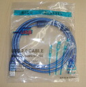 Blue with USB cable 1.5m A male -B male overcurrent protective circuit