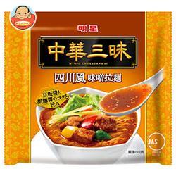 明星食品中華三昧四川風味噌拉麺103g×12個入