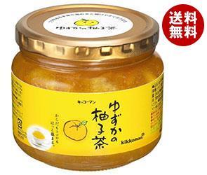 【送料無料】【2ケースセット】 キッコーマン ゆずかの柚子茶 580g瓶×12本入×(2ケース) ※北海道・沖縄・離島は別途送料が必要。