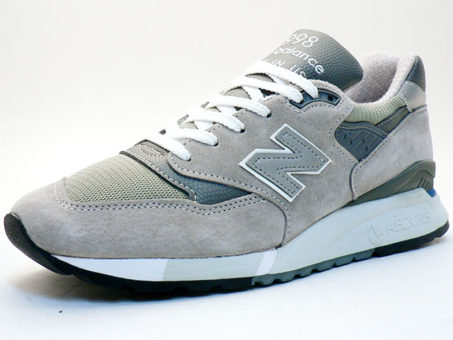 "new balance   M998 ""made in U.S.A."" ""LIMITED EDITION""  GY (M998 GY)"