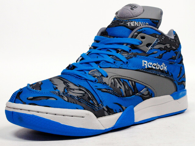 """【OUTLET】Reebok  COURT VICTORY PUMP """"STASH"""" """"STASH COLLECTION"""" """"LIMITED EDITION"""" BLU/GRY/CAMO (V61565)"""