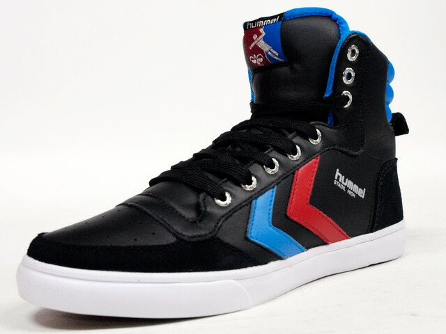 hummel  STADIL HIGH BLK/BLU/RED (HM63066K-2640)