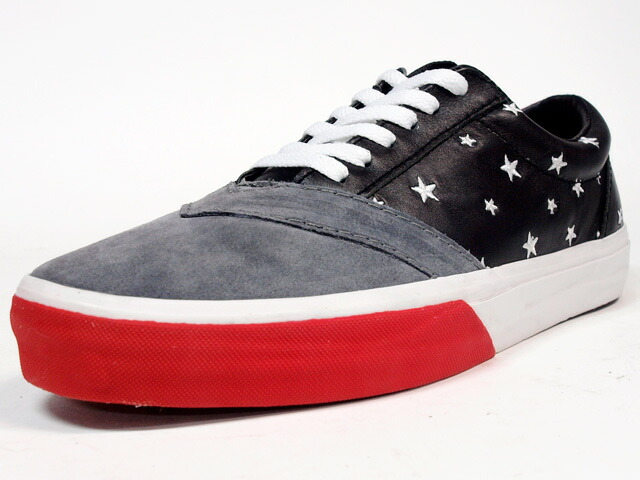 "LOSERS  UNEAKER ""CONSTELLATION"" ""CUSTOM MADE"" BLK/GRY/RED (14AWUN05)"