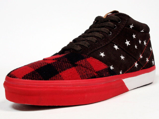 "LOSERS  TRANSPORTER TE ""CONSTELLATION"" ""CUSTOM MADE"" BRN/RED/CHECK (14AWTE06)"
