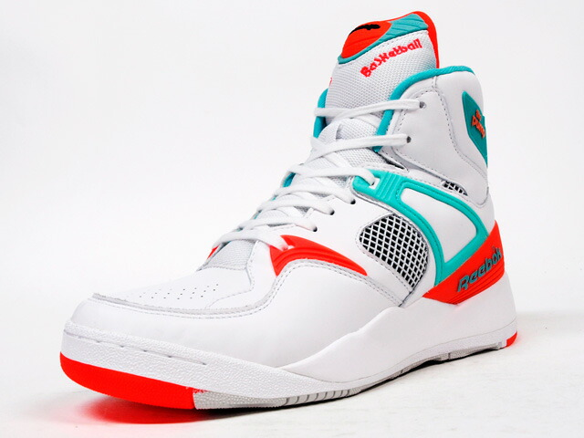 """Reebok  THE PUMP """"TITOLO"""" """"THE PUMP 25th ANNIVERSARY"""" """"LIMITED EDITION for CERTIFIED NETWORK"""" WHT/E.GRN/ORG (M44774)"""