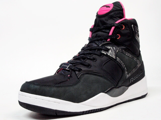 "Reebok  THE PUMP ""CROSSOVER"" ""THE PUMP 25th ANNIVERSARY"" ""LIMITED EDITION for CERTIFIED NETWORK"" BLK/PINK (M44665)"
