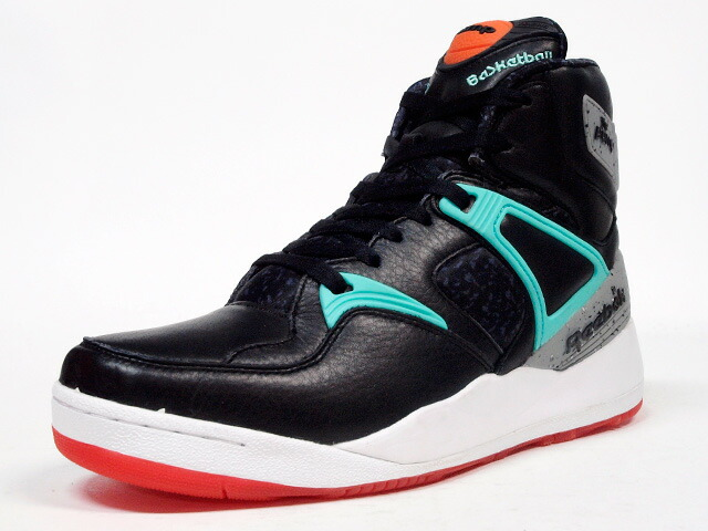 "Reebok  THE PUMP ""HAL"" ""THE PUMP 25th ANNIVERSARY"" ""LIMITED EDITION for CERTIFIED NETWORK"" BLK/M.GRN/ORG/BLK (M44092)"