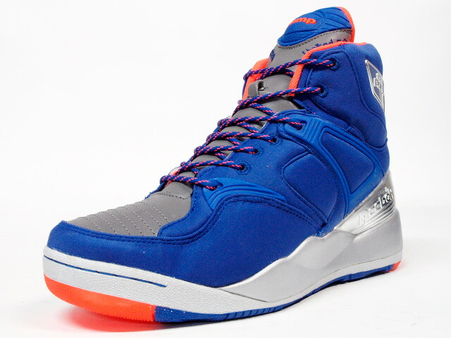 "Reebok  THE PUMP ""Limited Edt"" ""THE PUMP 25th ANNIVERSARY"" ""LIMITED EDITION for CERTIFIED NETWORK"" BLU/ORG/SLV (M44772)"