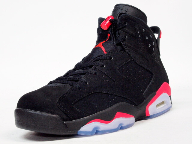 "NIKE  AIR JORDAN VI RETRO ""BLACK INFRARED"" ""MICHAEL JORDAN"" ""LIMITED EDITION for JORDAN BRAND"" BLK/RED (384664-023)"