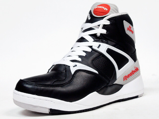 "Reebok  THE PUMP ""THE PUMP 25th ANNIVERSARY"" ""LIMITED EDITION"" BLK/WHT/GRY/ORG (J09092)"