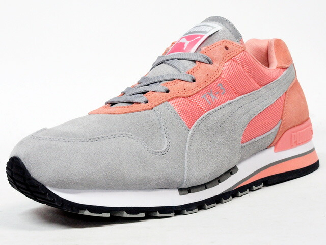 "【OUTLET】Puma  TX-3 BC ""BI-COLOR PACK"" ""LIMITED EDITION"" GRY/PINK (358753-03)"