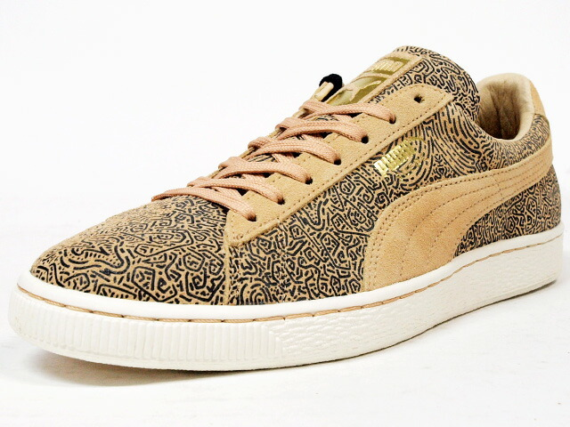 "Puma  SUEDE CLASSIC WMNS LINES ""NATURAL CALM PACK"" ""LIMITED EDITION for CREAM"" BGE/BLK (358017-01)"