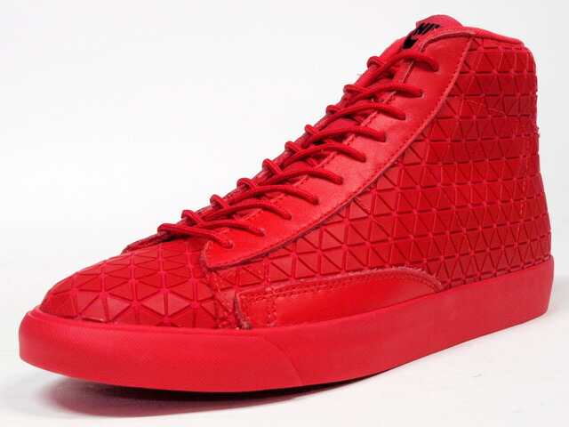 """NIKE  BLAZER MID METRIC QS """"LIMITED EDITION for NONFUTURE"""" RED/RED (744419-600)"""